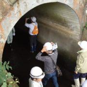 川上繰穴隧道の内部見学