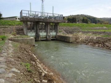 西条予備取水口