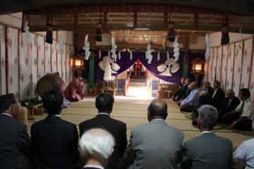 平成30年8月27日宇賀神社代表参拝