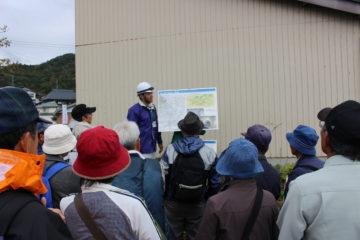 川上繰穴隧道(トンネル水路)の内部の説明