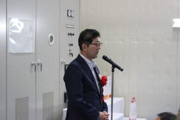 祝辞を述べる髙鳥農林水産副大臣