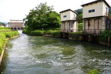 上江用水の水源池